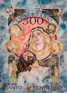 Cartel III Centenario del Santo Entierro